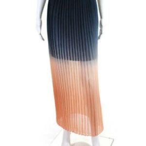 Cynthia Rowley Skirts - Cynthia Rowley Pleated Ombre Maxi Skirt - Size XS